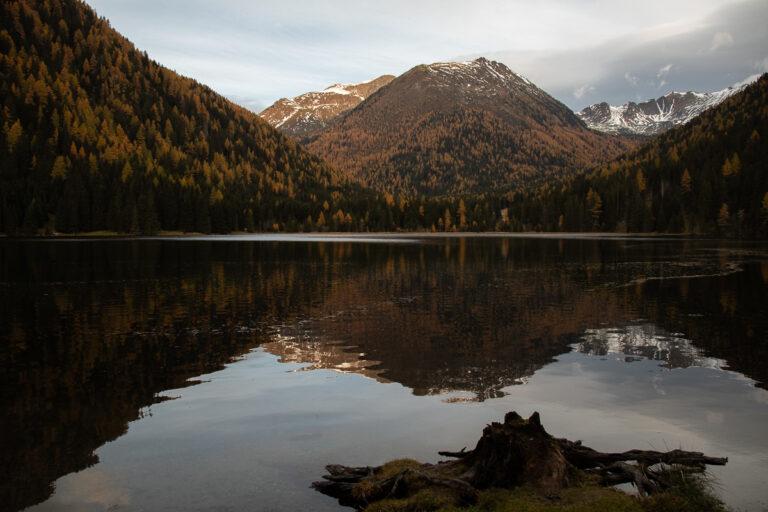 Vom Etrachsee zur Hubenbaueralm